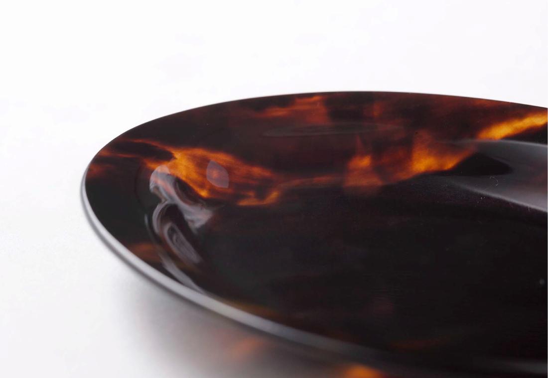 鼈甲小皿 オーバル型